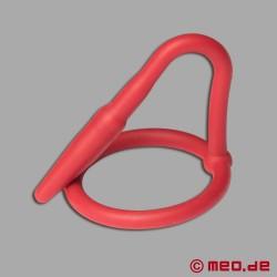 Silicone Cock Plug – Penis Plug - red