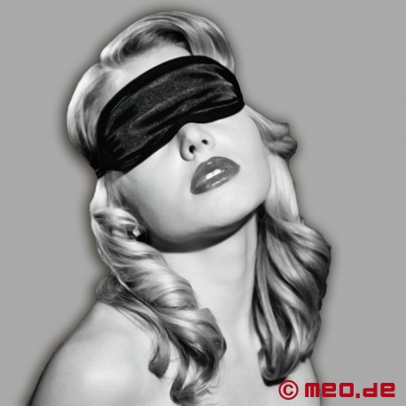 S&M - Satin Blindfold Black