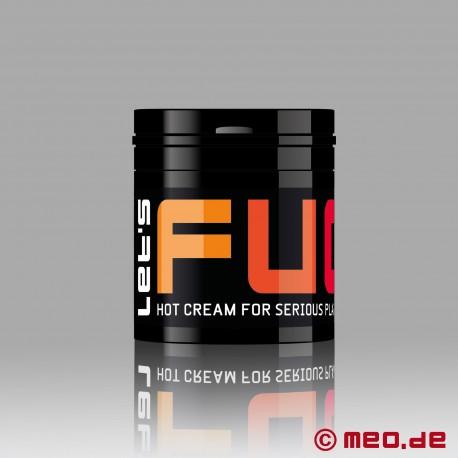 LET'S FUCK HOT by MEO Crema lubrificante a effetto riscaldante per il fisting anale