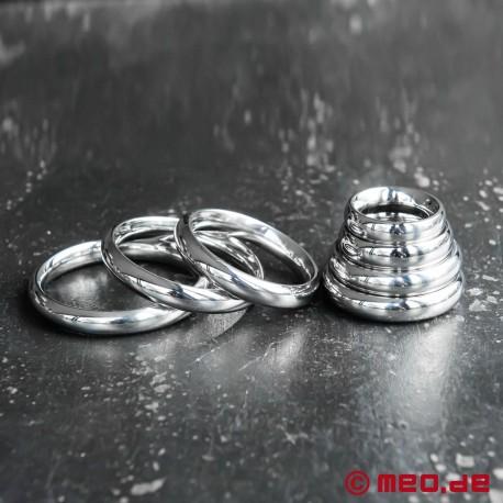 Donut Cockring DUKE, anello per il pene o per il glande in acciaio inossidabile