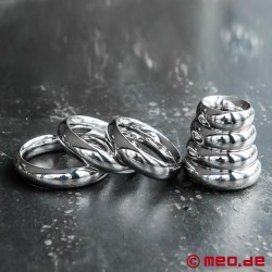 Donut Cockring ROYAL, anello per il pene o il glande in acciaio inossidabile