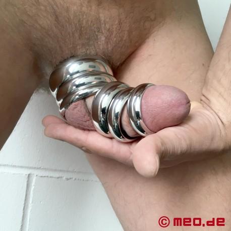Donut Cockring IMPERIAL, anello per il pene o il glande in acciaio inossidabile
