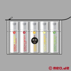 Kit promotionnel COCK CANDY. 5 gels de fellation aromatisés