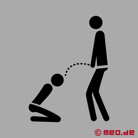 Bâillon – Bâillon à mordre pour les esclaves