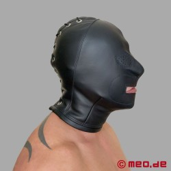 Masque de bondage San Francisco en cuir