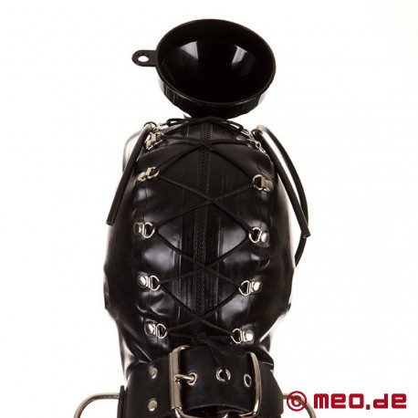 Masque uro en latex: Piss&Play by MEO®