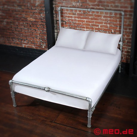 Fitted Sheet White UK Double 1400x1900