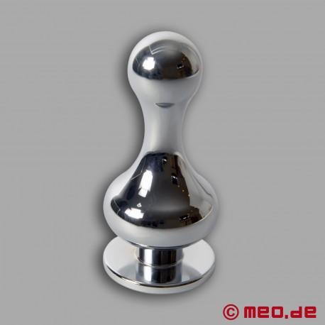 Plug anal métallique Amoremeo Slim Shot