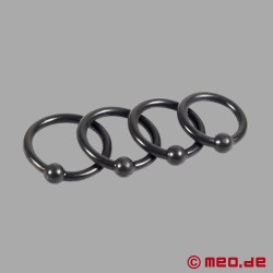 Silicone Glans Rings – Set of 4