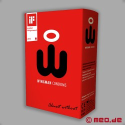 Preservativi Wingman, scatola da 8 pezzi