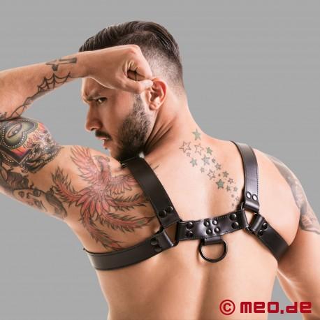 Fetish Gear Harness in schwarz