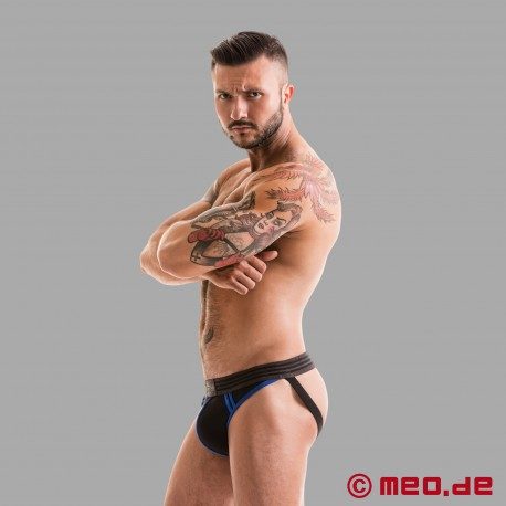 Fetish Gear Core Jockstrap in schwarz / blau