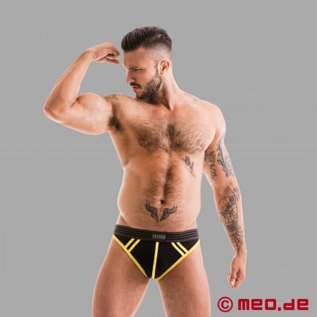 Fetish Gear Core Jockstrap en noir / jaune