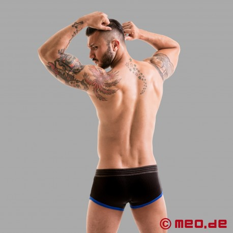 Fetish Gear Core Boxer Brief in schwarz / blau