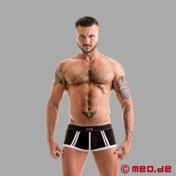 Fetish Gear Core Boxer Brief en noir / blanc