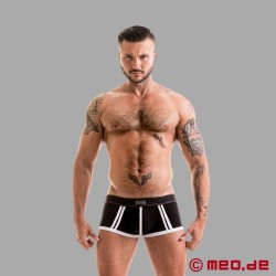 Fetish Gear Core Boxer Brief in Black / White