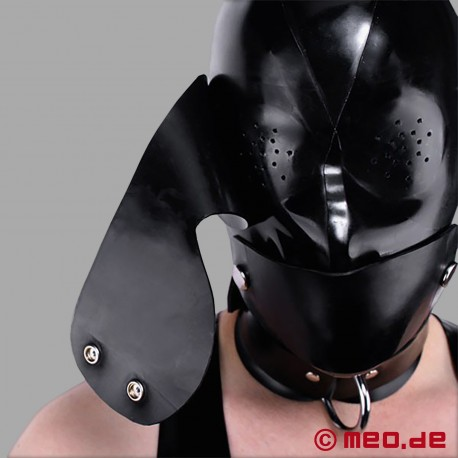 Masque bondage en latex