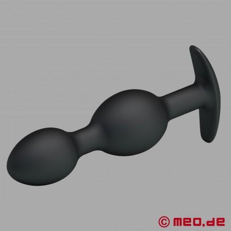 HOLLY FUCK II Buttplug – Plug anal avec deux boules en acier à l'intérieur