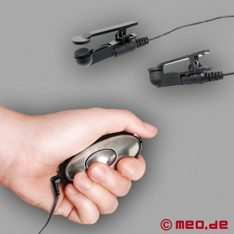 Morsetti Elettrici per i Capezzoli con Telecomando