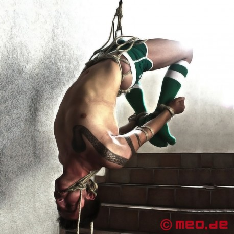 Shibari Bondage Suspension Ring with Triskele