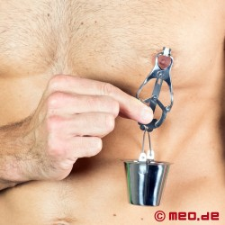 Bucket Clamps - Nipple Clamps with Bucket