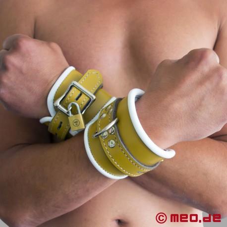 Abschließbare Handfesseln mit Zeitschloss - Psychiatrie Style