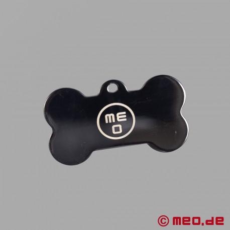 Plaque pour chien – Médaille Puppy en forme d'os