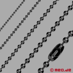 Kugelkette – Ball Chain in schwarz