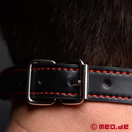 Bad Puppy Mundknebel – schwarzer Hundeknochen Knebel