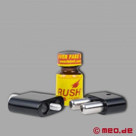 RUSHTIME - Inalatore speciale per poppers - 10 volte più forte