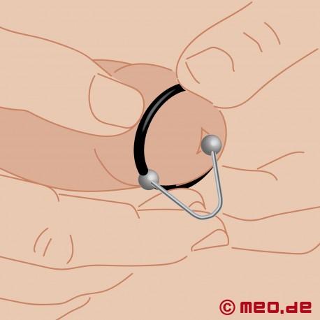 Anello per il Glande con Freno per lo Sperma 3.0