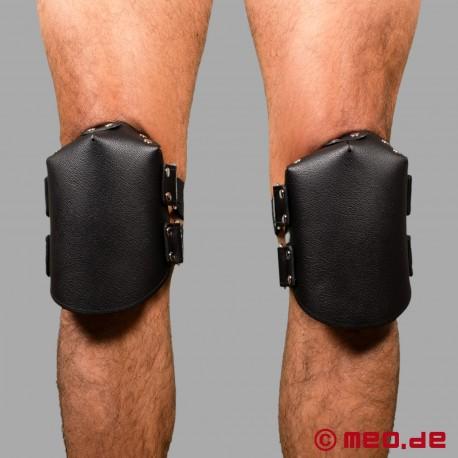 Cock Sucker Leather Knee Pads