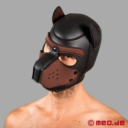 Bad Puppy Neoprene Hood - black/brown