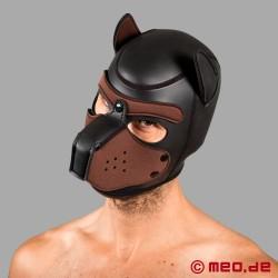 Bad Puppy - Hundemaske aus Neopren - schwarz/braun