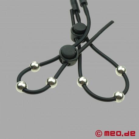 Boucles péniennes pour l'électrosexe – Anneaux péniens pour l'électrostimulation