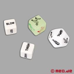 """Erotisches Würfelspiel """"Play & Fuck"""" von MEO"""