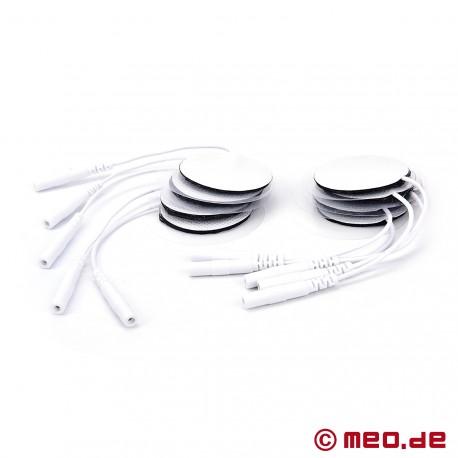 Paquet de 10 électrodes rondes pour le pénis, le cul et les couilles