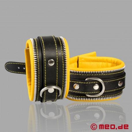 Entraves de bondage pour chevilles Code Z noir/jaune