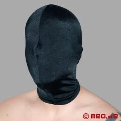 Maschera BDSM in spandex senza aperture