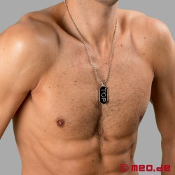 TOP necklace - Men's necklace with pendant