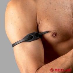 Dr. Sado's Snake Whip Armband - Discrete whip as an upper-armband