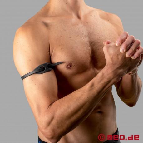 Bracelet Dr. Sado's Snake Whip – Bracelet-cravache de biceps sobre