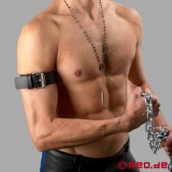 Leather Buckle Armband
