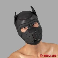 Bad Puppy - maschera da cane in neoprene - nero