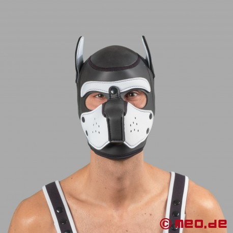 Bad Puppy Neoprene Hood - black/white
