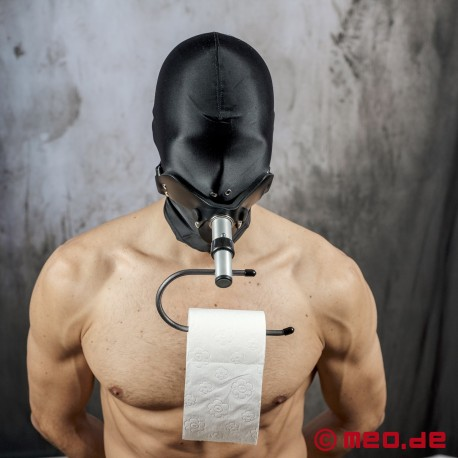 Klopapierhalter für den Humilator Mundknebel
