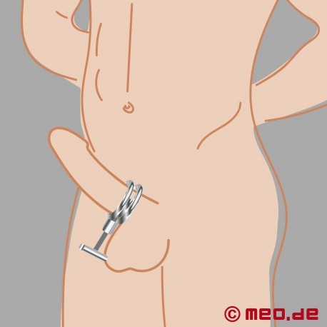 Dr. Sado COCKOLOCKO - Cock ring with penis press