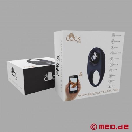 The Cock Cam - Cock Ring avec caméra vidéo