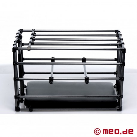 Cage esclave - réglable en taille - avec plaque de base rembourrée