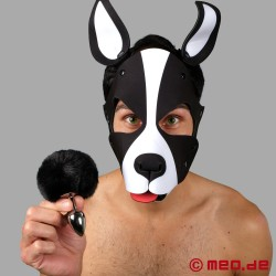 Bad Puppy Buttplug Pompon - nero